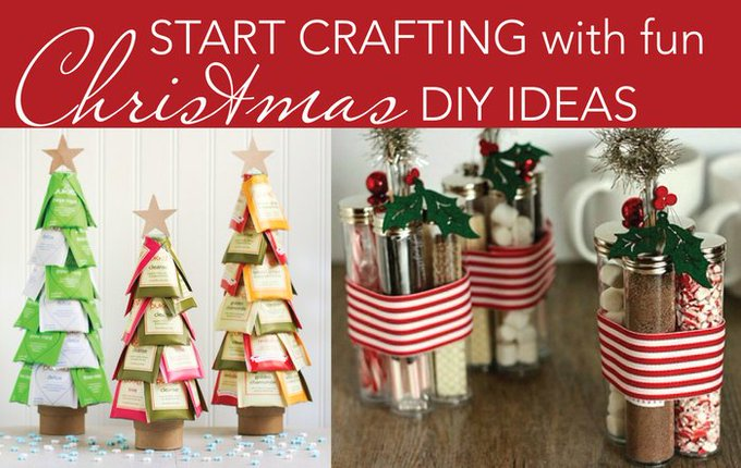 Fun holiday diy ideas for you and the kids.