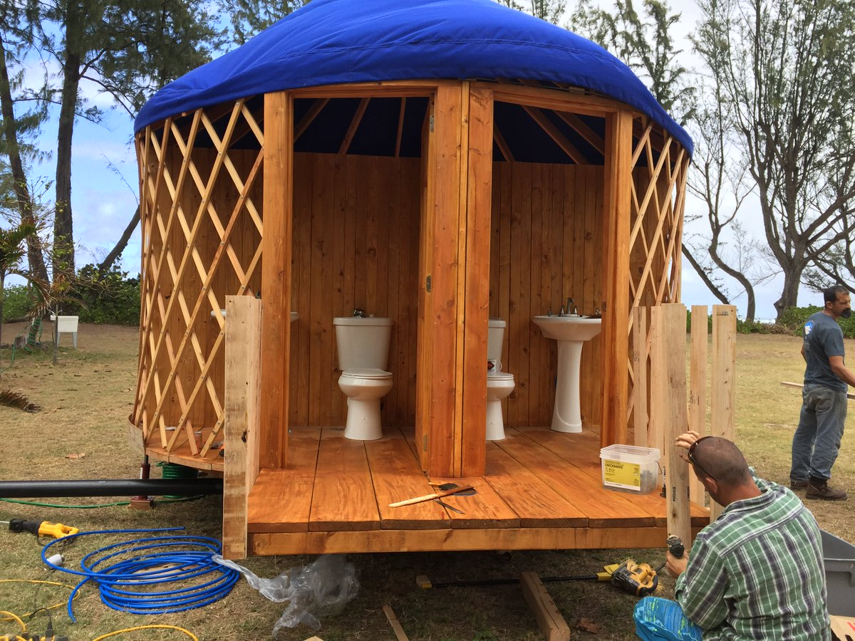 Image Result For Bathroom Yurt