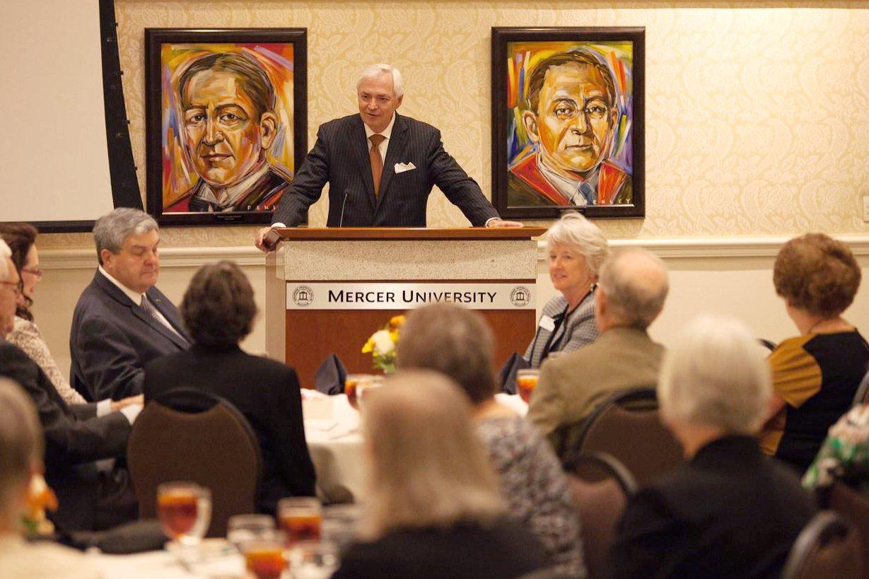 PHOTOS: Class of 1966 Golden Anniversary Dinner #MercerHC16 https://t.co/b6g86e6Qe1 https://t.co/YPl0Cliai8
