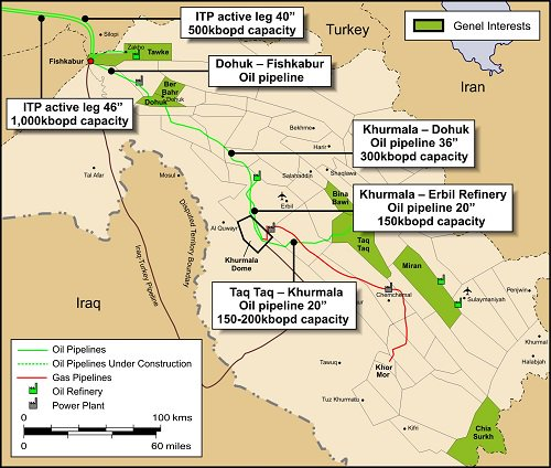ISIS occupation of Ninewah an 'interesting' oil 'opportunity'. Includes State Dept pipeline map of Iraq #Podesta https://t.co/4VwwTYlOU3