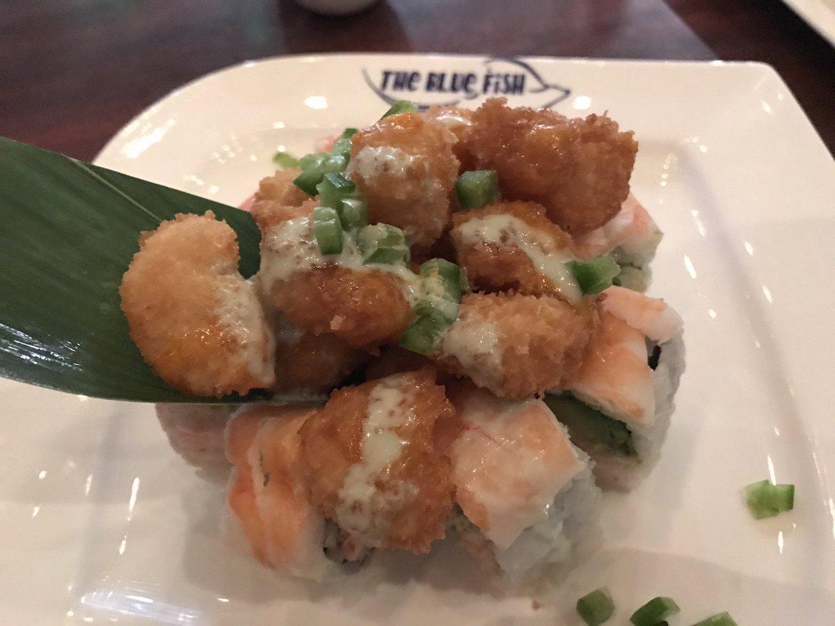 Blue fish sushi bluefishsushi1 twitter for Fish for sushi