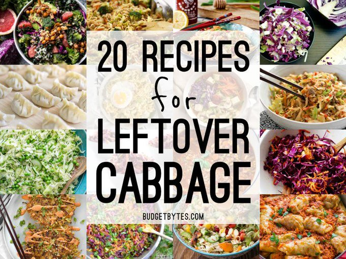20 Recipes for Leftover Cabbage