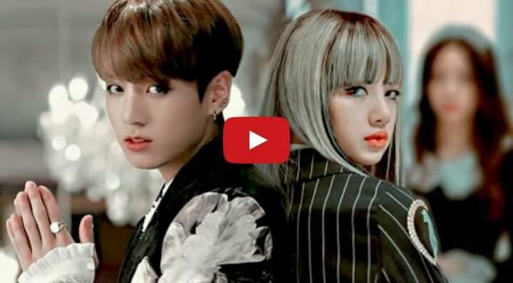 Lisa de black pink y Jungkook de BTS  confirman que tienen una relación
