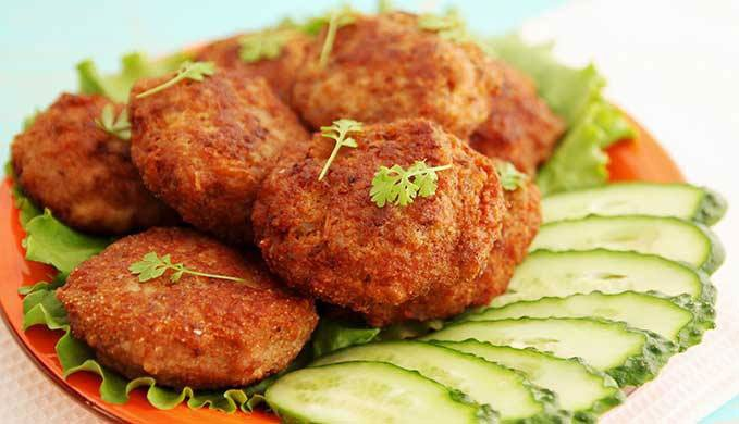 Crunchy Potato Cutlet -
