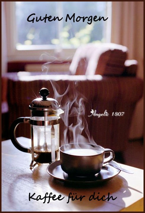 Angélique Sur Twitter Guten Morgen Kaffee