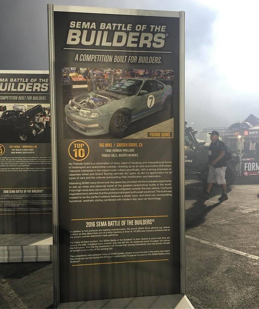Ryan Basseri On Twitter 2 Years In A Row We Have Done It 1992 Honda Prelude Oils Sema2016 Semashow Thebigmike Rywire Http Ifttt 2fm4qkw Pic Xfmpib17vu