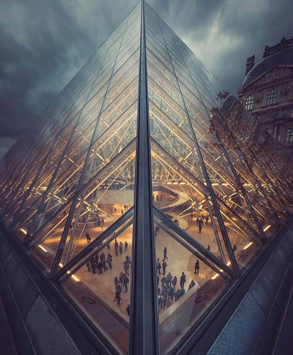 Museum Louvre Pyramid.#Paris #France by...Eduardo Cavasotti. https://t...