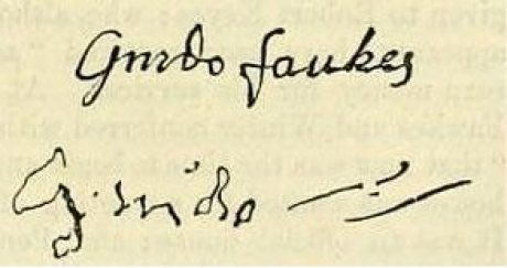 Image result for guy fawkes signature