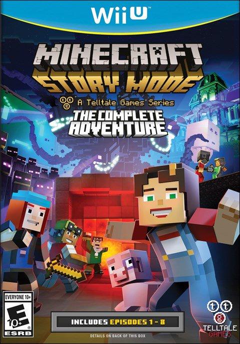 Resultado de imagen de Minecraft: Story Mode - The Complete Adventure WiiU CARATULA
