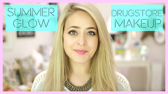 Summer Glow: Everyday Drugstore Makeup! Fleur DeForce LoveYa Beauty MakeUp -