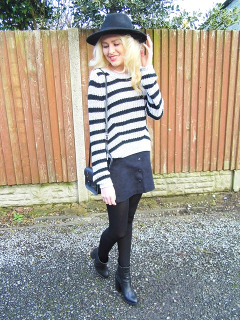 It's all about stripes in my NEW outfit post! FBloggers BBloggers OOTD