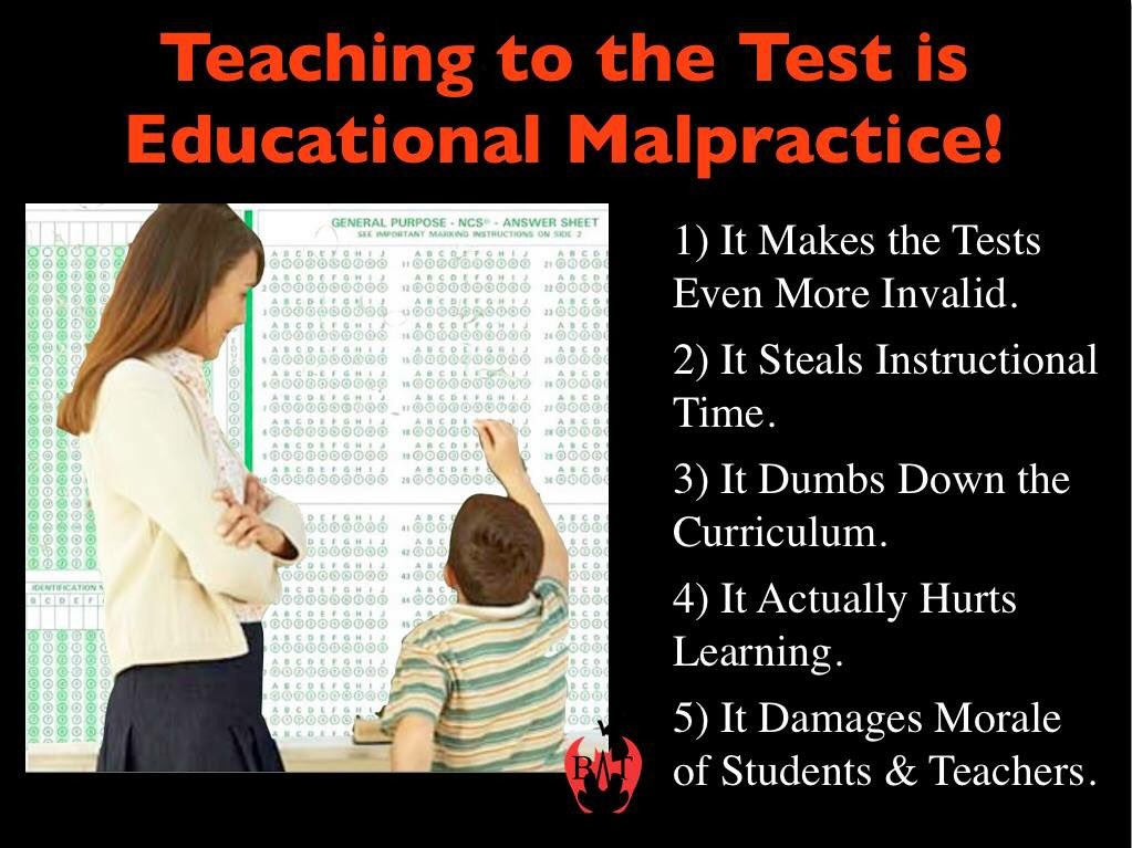 Educational Malpractice Child >> Steven Singer On Twitter Teaching To The Test Is Educational