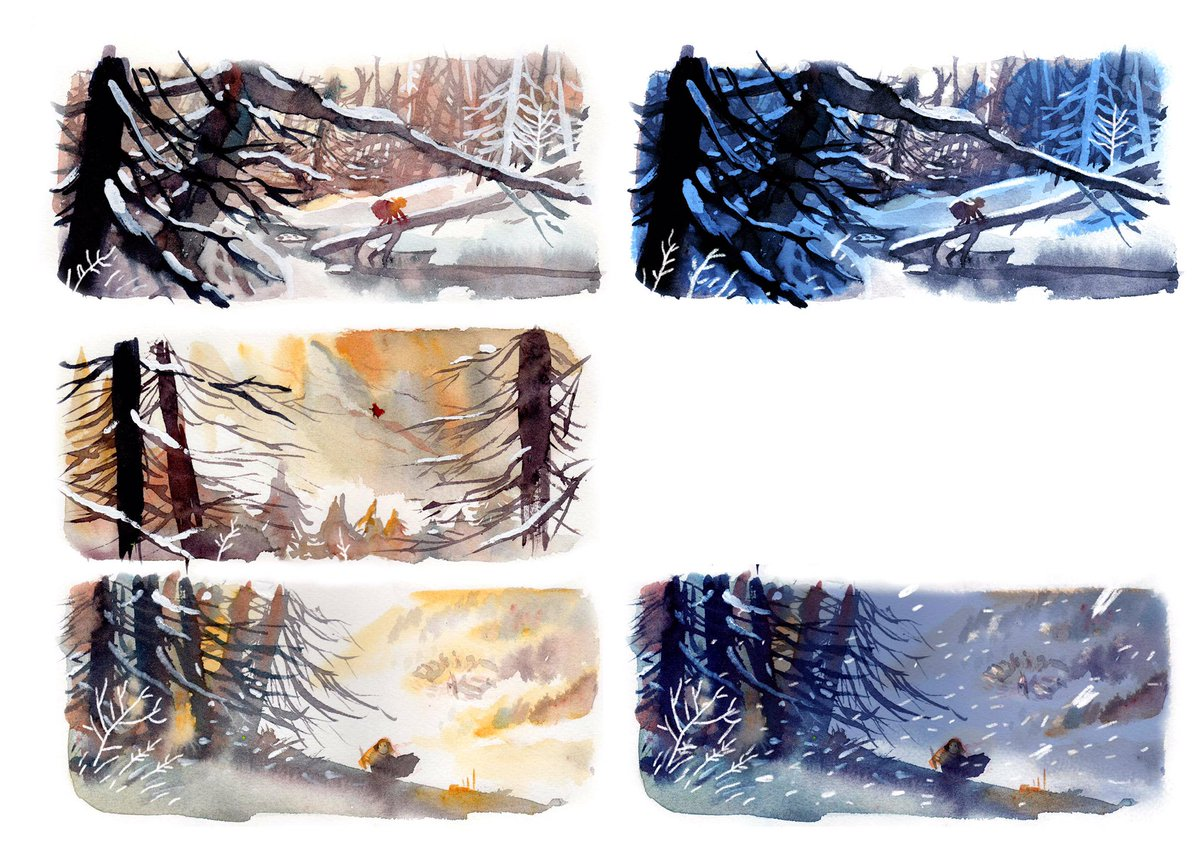 water colour animation