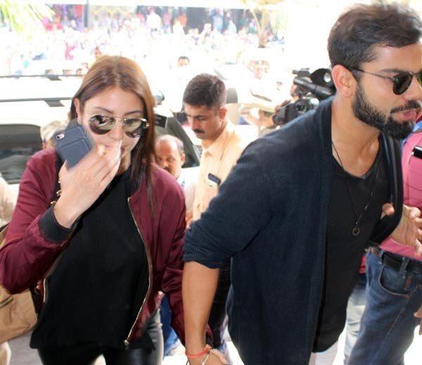 Viral Ip News Viralipnews: Anushka Sharma And Virat Kohli Spotted Together!