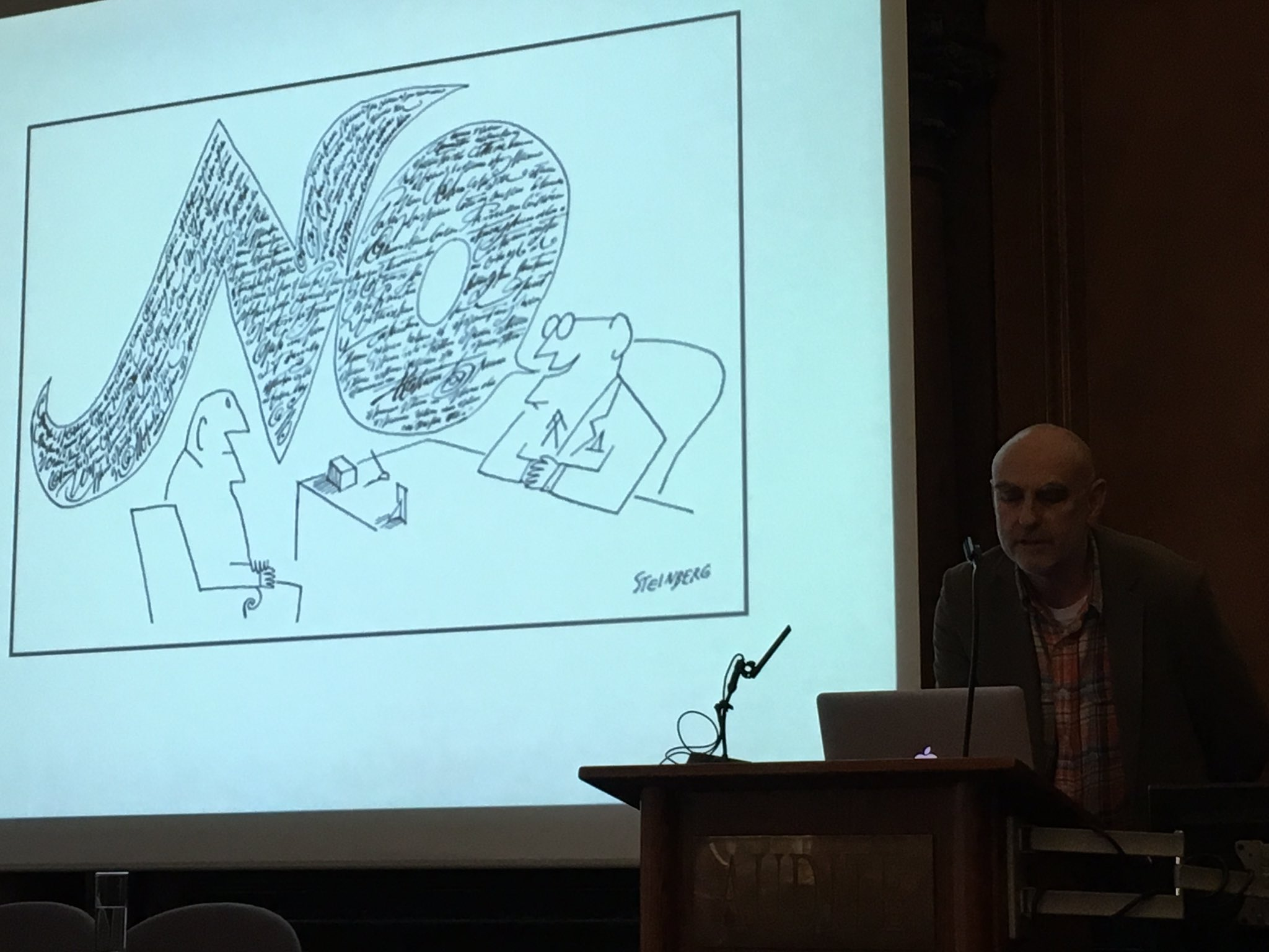 Martin Salisbury on visual thinking - this image represents many departmental meetings most succinctly! #IBBYPictures https://t.co/urSwz3TMmQ