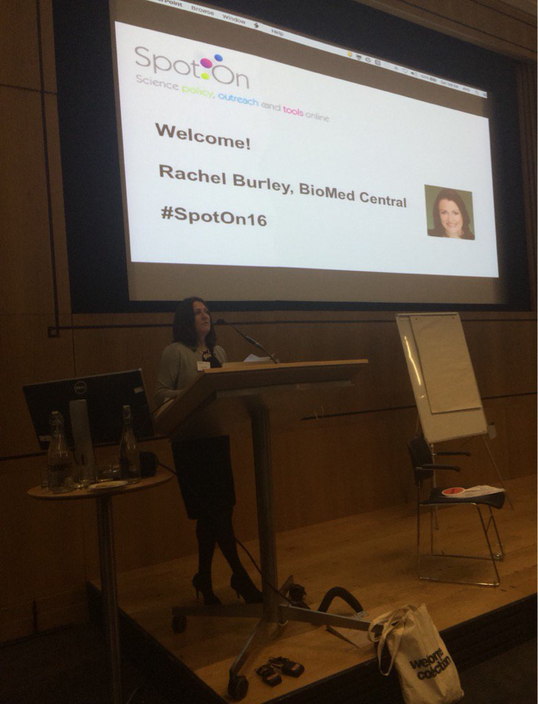 It's Rachel Burley kicking off #SpotOn16  very excited for today!! https://t.co/SqOBLoA3uy