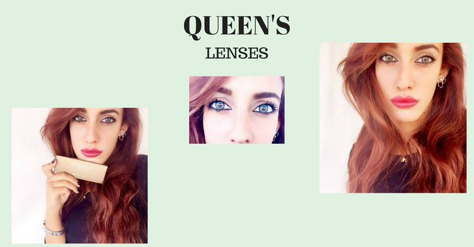 MY CONTACT LENSESbbloggers fbloggers lbloggers beauty lenses queens