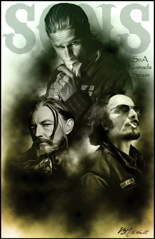 Sons Of Anarchy Esp On Twitter Fan Art Sons Of Anarchy