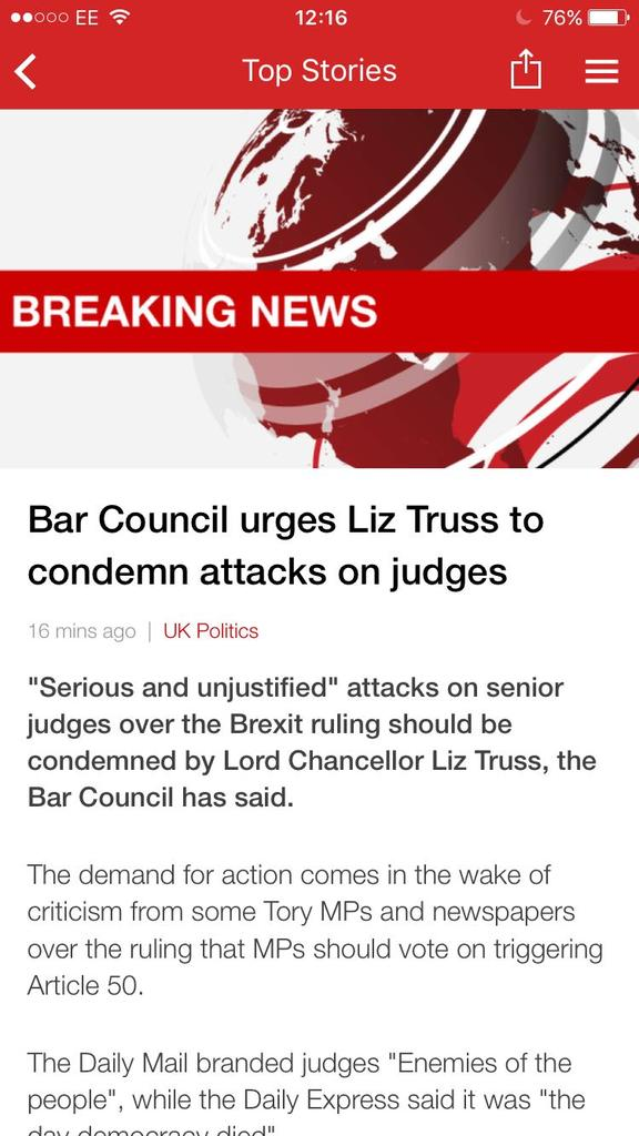 Bar Council urges Liz Truss to condemn attacks on judges - https://t.co/PCaaEQkTfo https://t.co/VCEkvr0sic