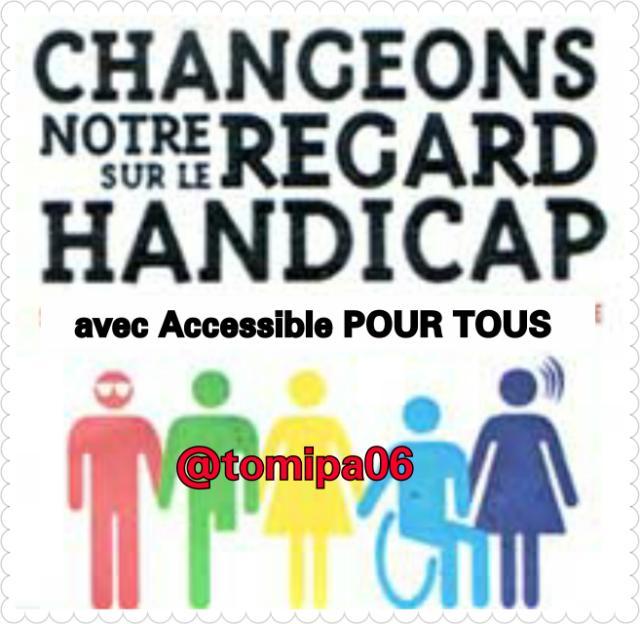 #RT Nos Amis, ensemble nous pouvons changer le regard sur le #Handicap ! #Accessibilité #Handicapé #PMR<br>http://pic.twitter.com/xdF8m0MQi8