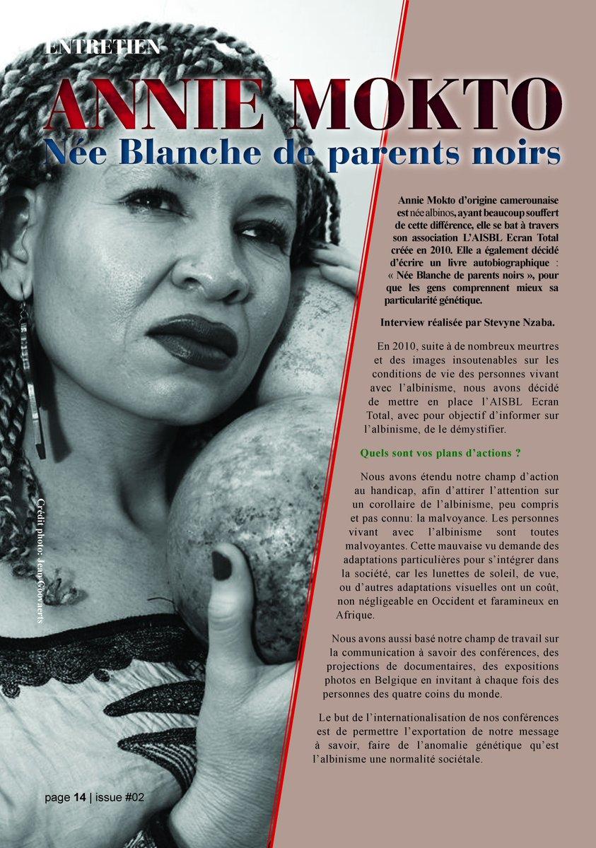 Yaya Magazine On Twitter Anniemokto Nee Blanche De