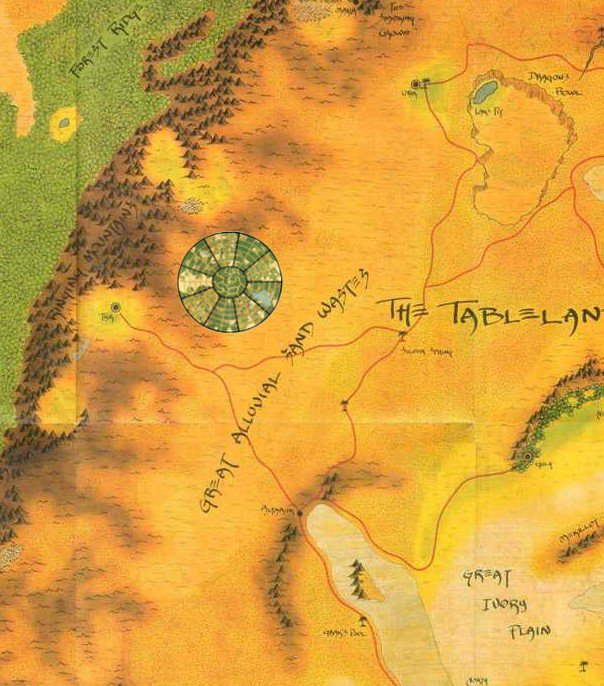 Athas World Map.Dark Sun A Day On Twitter 2e Tyr Athas Is 42 The Size Of 4e But