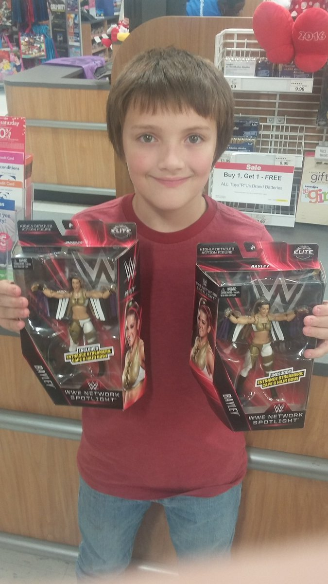 Butch Harlow On Twitter Itsbayleywwe Toysrus My Son And I Are