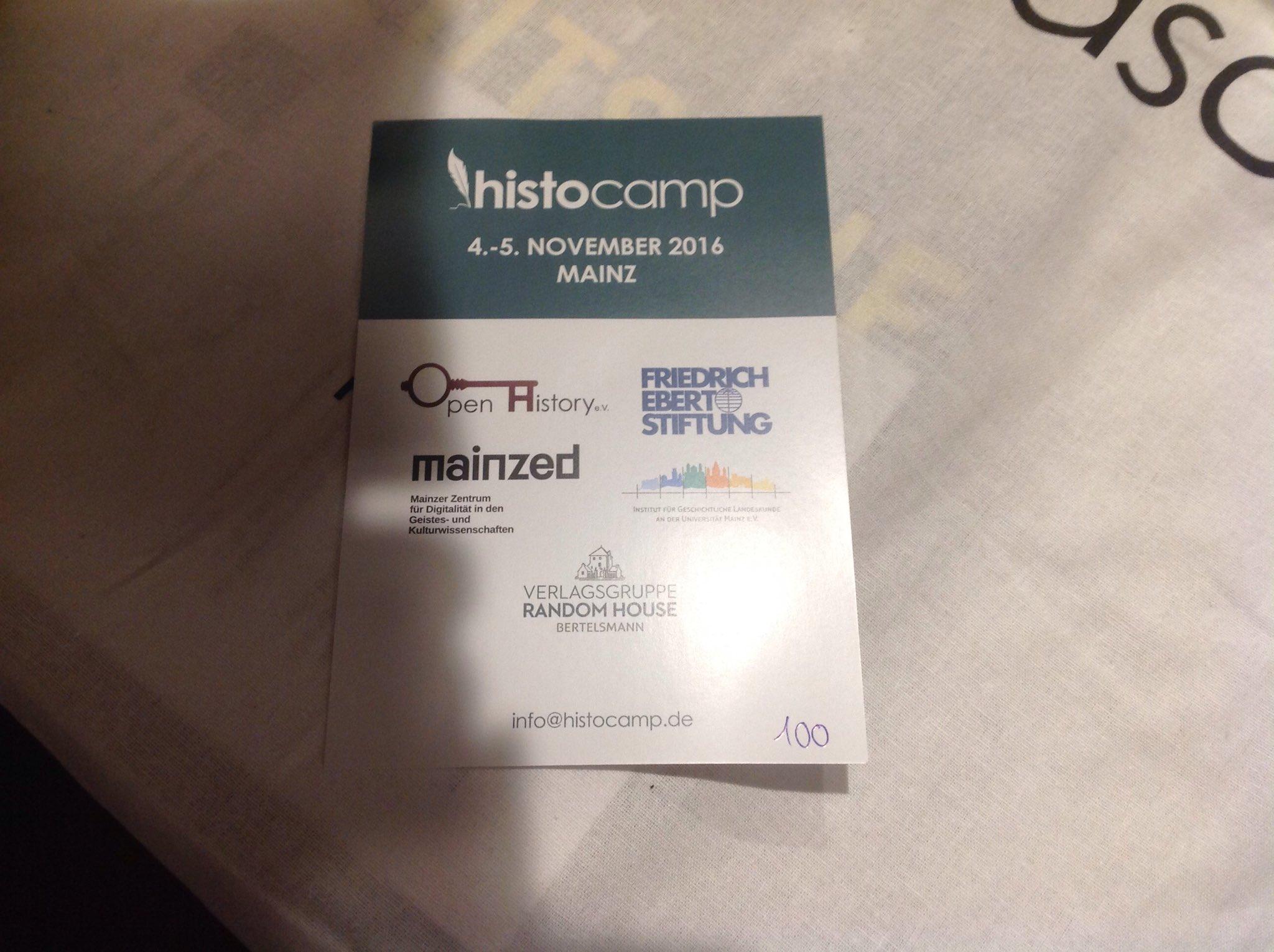 Thumbnail for histocamp 2016 - Rückblick
