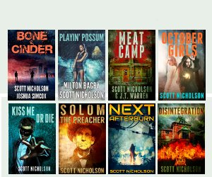 16 free and 99 cent books from Scott Nicholson! SF, thriller, and horror. https://t.co/LHIJUmJ6bT https://t.co/w0P808qZlD