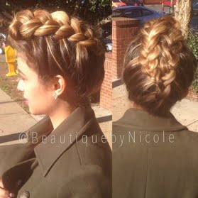 EDGY with Nicole's 7-step Fauxhawk braid! Learn her howto & DIY!