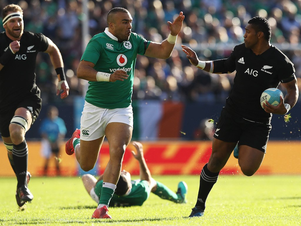 """New Zealand Time Twitter: Planet Rugby On Twitter: """"IRELAND DEFEAT NEW ZEALAND FOR"""