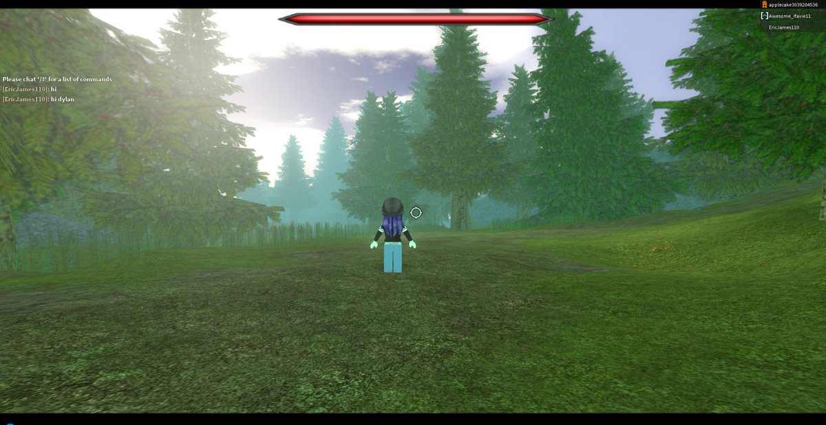 Dylan On Twitter Been Working On A Showcase Rpg In Roblox