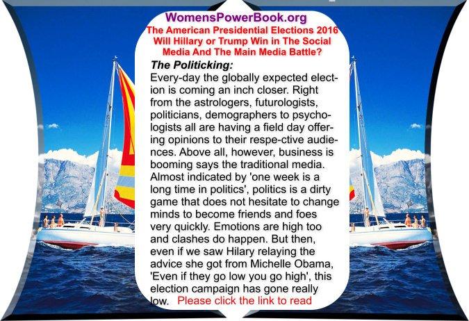 #votetrump #Elections2016 Women empowerment site: Hillary or Trump Who has better chances https://t.co/feoC4PpkGV  https://t.co/S5t7aYB3Ui
