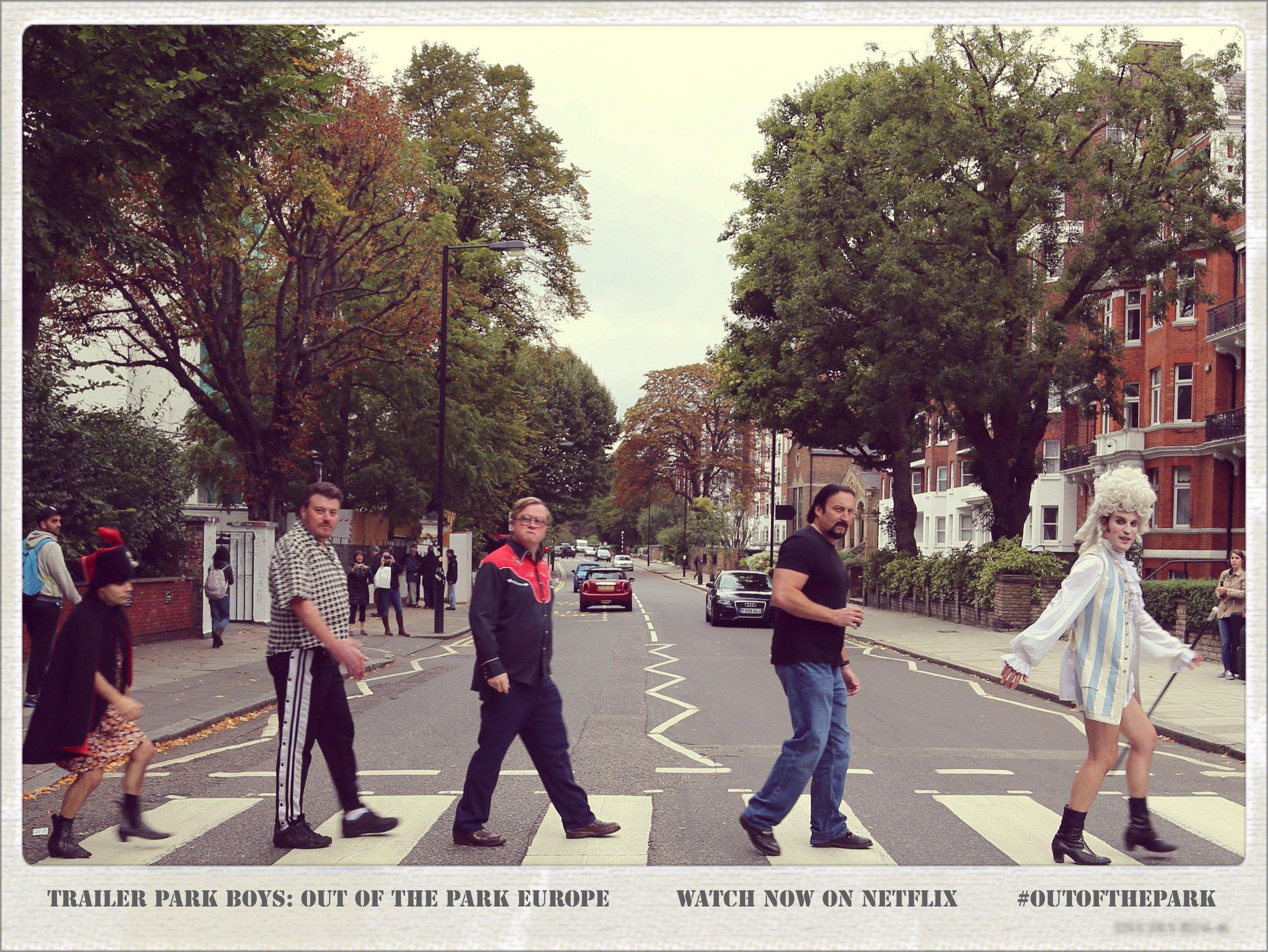 Noel Fielding Trailer Park Boys