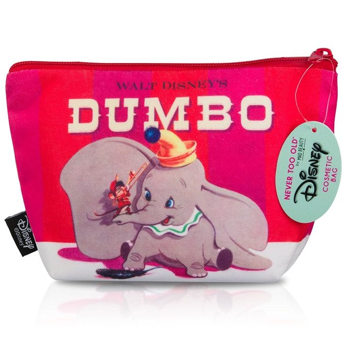 New in, this is such a classic!dumbo classic makeupbag makeup flamingogifts