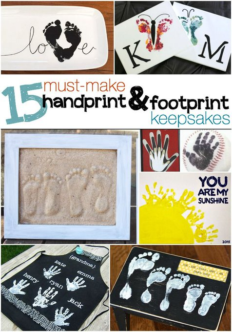 15 Must-Make Handprint & Footprint Crafts Kids