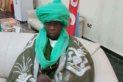 The Yallabai of Sokoto, former President - Chief Olusegun Obasanjo prepared for the mini Durbar chieftaincy title on Saturday in Sokoto State.