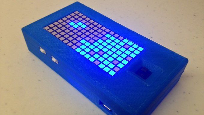 diy Build Your Own Pocket Game System for Tetris and Snake