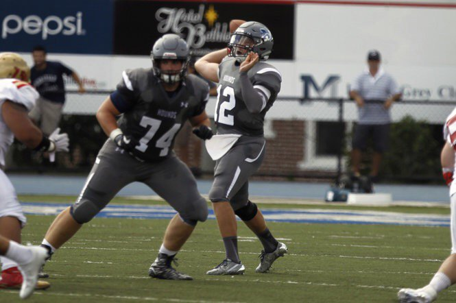 Moravian Football On Twitter Moravian Qb Hayes Shatters Records In