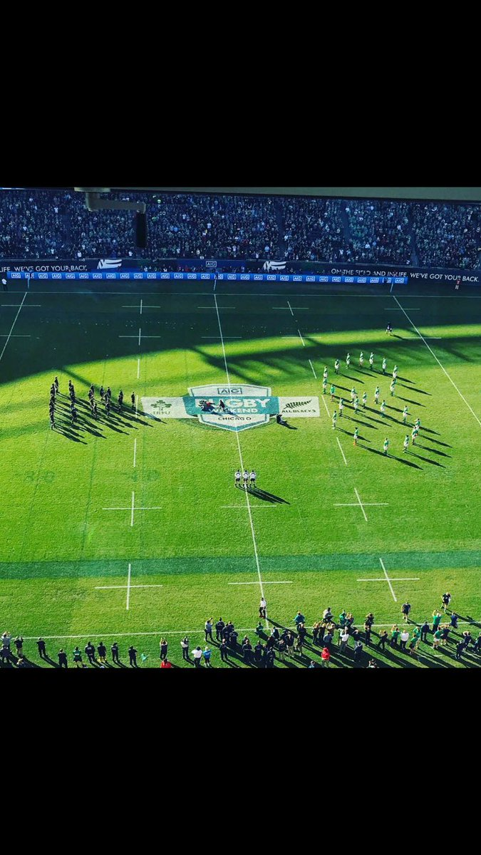 It all started with a No 8  History made #IREvNZL https://t.co/kq0cpwbWwh