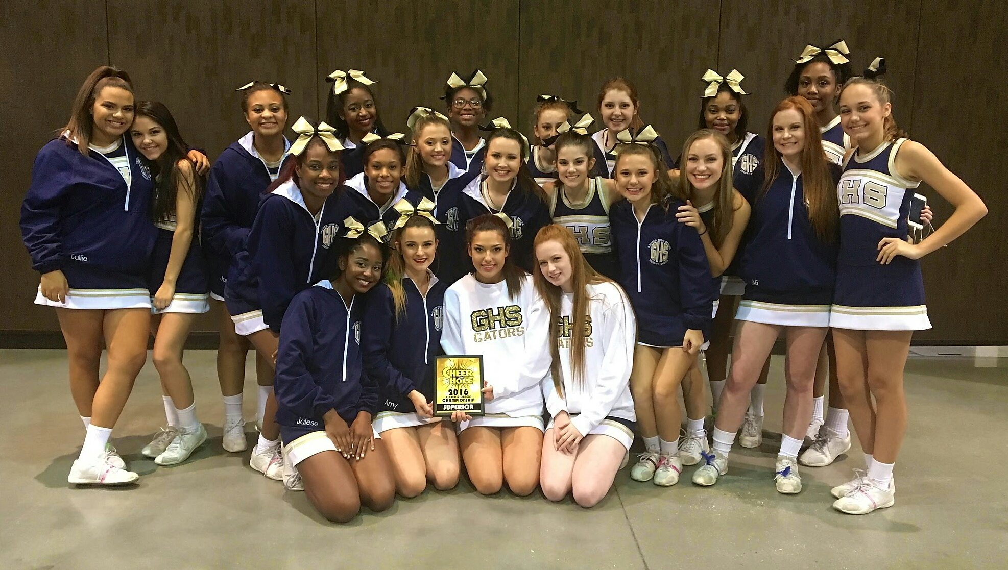 Gautier High School On Twitter In Cheer For Hope Today At Biloxi