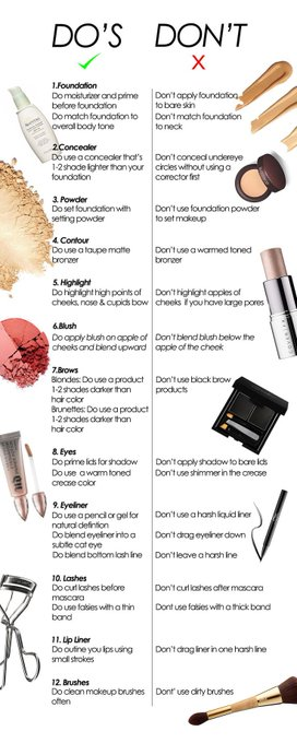 12 Common Makeup Mistakes That Age You. MakeupMishaps