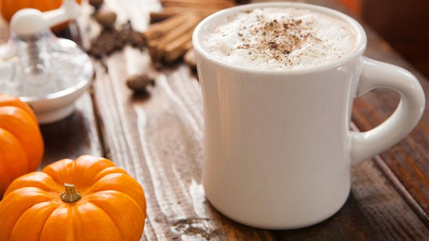 The PumpkinSpice Latte Vegan Style. Fall Coffee DIY