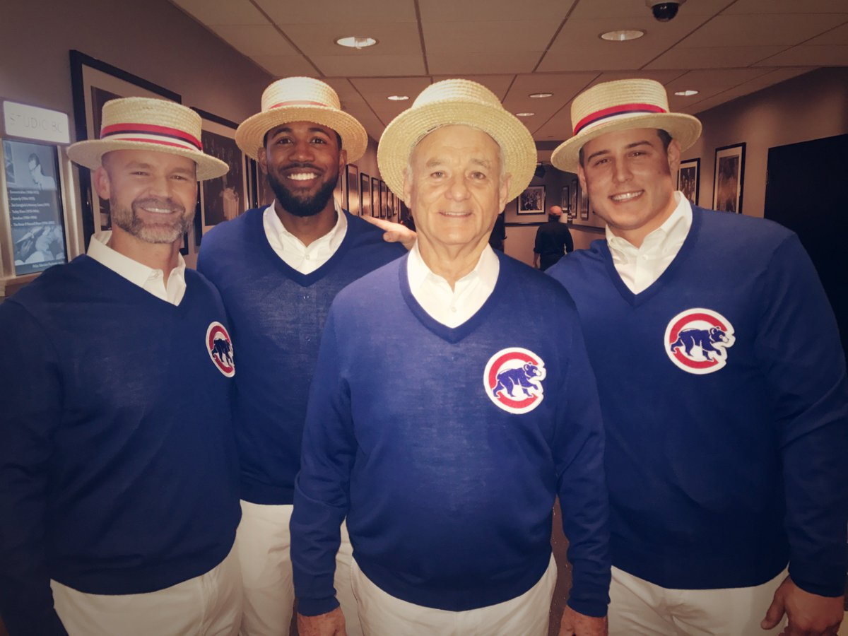 'Saturday Night Live': Bill Murray, Chicago Cubs sing 'Go Cubs Go'