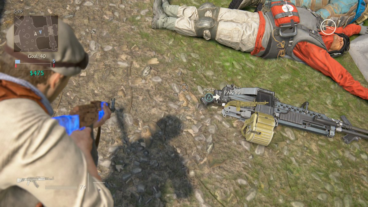 Aisl Shooting the return of the pak 80? : unchartedmultiplayer