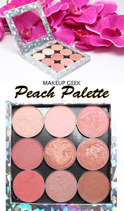 Makeup Geek Peach Palette MakeupGeek crueltyfree beauty