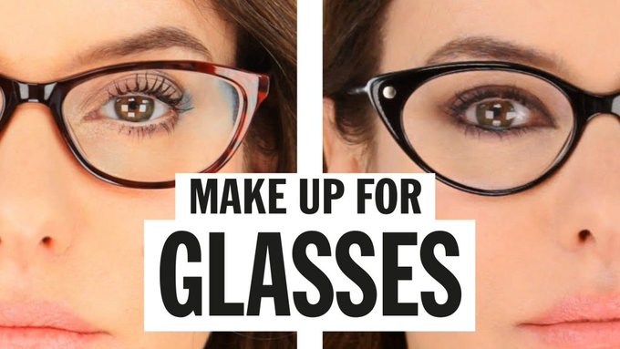 Makeup for Glasses MakeUp LoveYouLisa -
