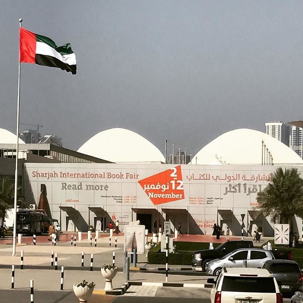 The Sharjah International Book Fair #SIBFALA16 #ASKinUAE https://t.co/Bb4ieEIJOe