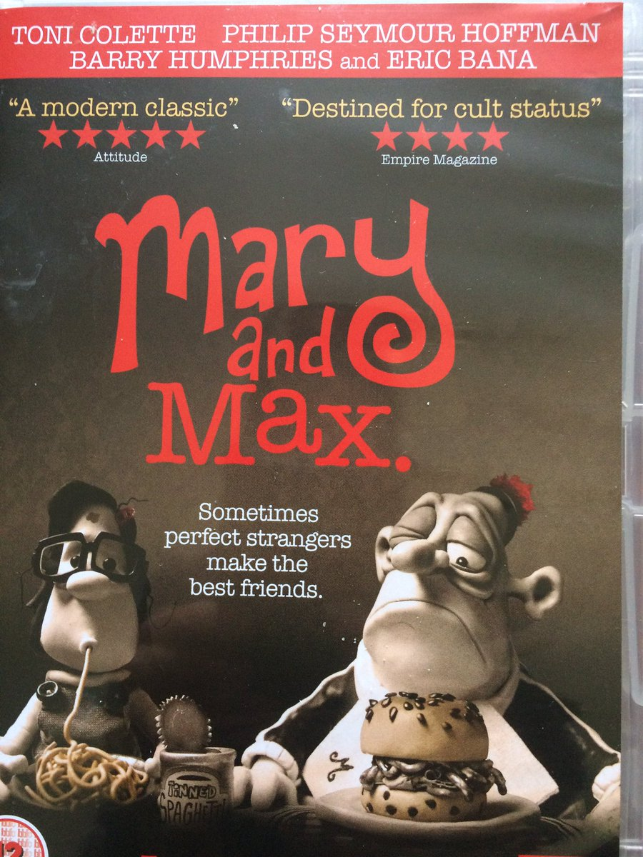 Frommetoyou On Twitter If You Want To Know How Letters Can Help Those Feeling Isolated Scared This Beautiful Film Mary Max Is A Lesson In Compassion Letter Https T Co Ejkexhbxhz