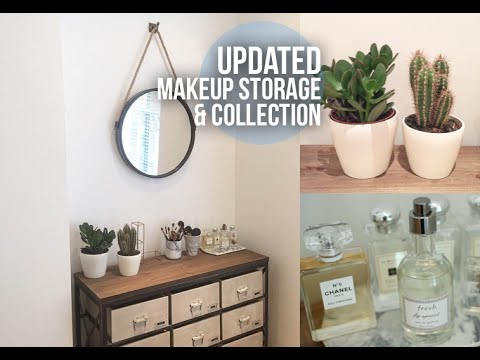Updated Makeup Storage & Collection | Lily Pebbles LilyPebbles LoveYa MakeUp Beauty -